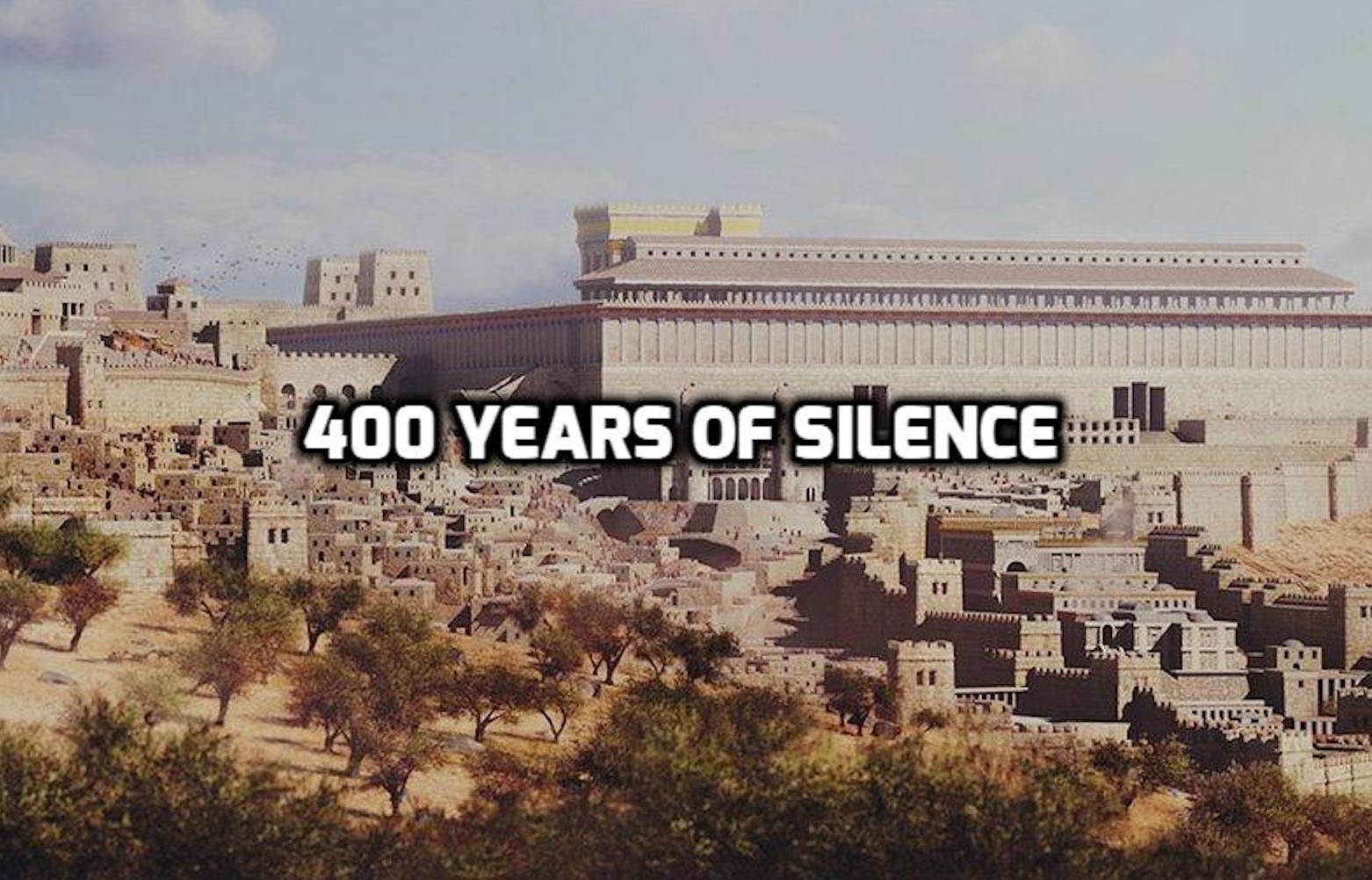 400 years between malachi and matthew