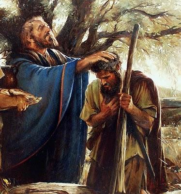 Melchizedek-Blesses-Abraham