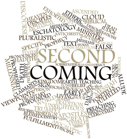 16530075 - abstract word cloud for second coming with related tags and terms